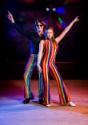 Mameluco Disco de los años 70 para mujer