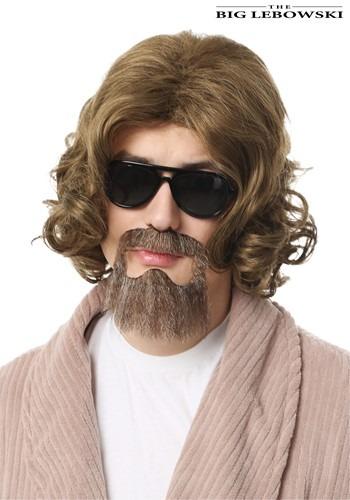 Kit de peluca y barba The Dude de The Big Lebowski