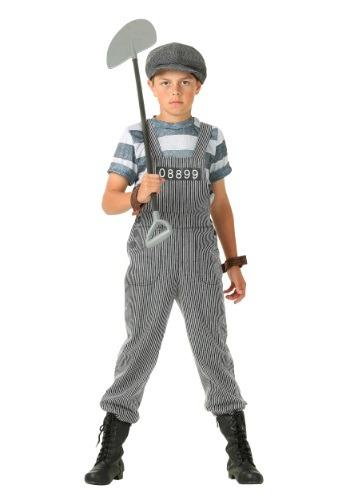 Disfraz para niño de prisionero Chain Gang