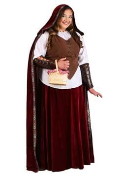 Disfraz de Caperucita Roja deluxe talla extra