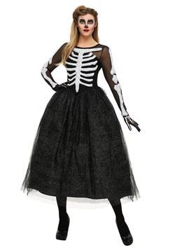 Disfraz de belleza esqueleto para mujer talla extra