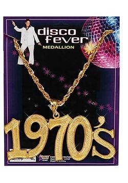 Collar dorado de 1970