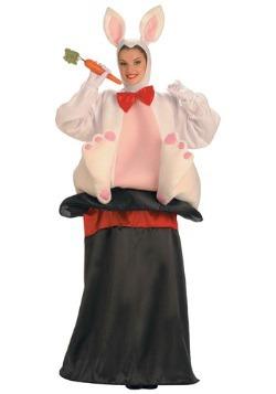 Disfraz de conejo en el sombrero mágico para adulto