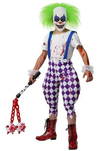 Disfraz de payaso de pesadilla para niños