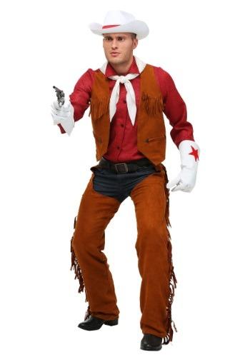 Disfraz de vaquero de rodeo para adulto talla extra