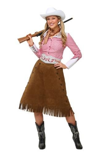 Disfraz de vaquera de rodeo para adulto