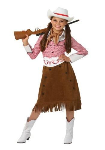 Disfraz vaquera de rodeo para niñas