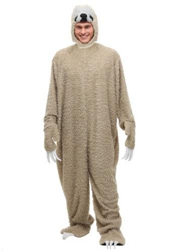 Disfraz de perezoso para adulto