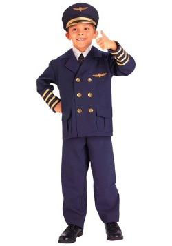 Disfraz de piloto de Child Airline