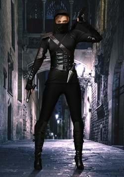 Disfraz de ninja asesino femenino