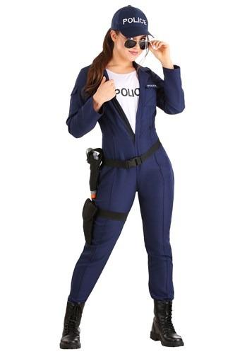 Mameluco de policía táctico para mujer