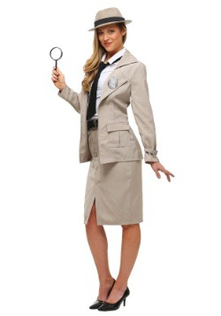 Disfraz de Miss Private Eye para adulto
