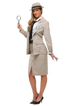 Disfraz de Miss Private Eye para adulto talla extra