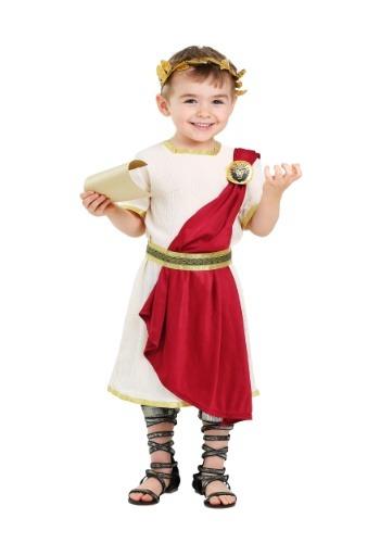 Disfraz de senador romano para niños pequeños