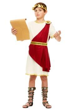 Disfraz de Senador Romano de Niños