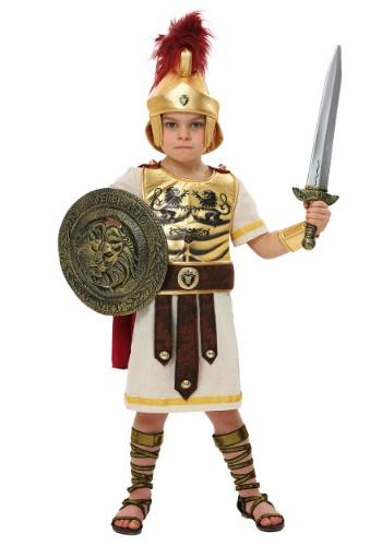 Disfraz de campeón de gladiador para niños pequeños