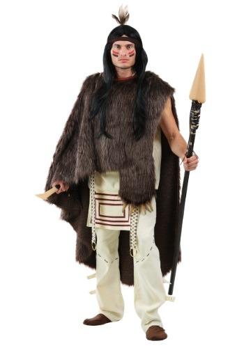 Deluxe Native Chief Hombres traje de talla grande
