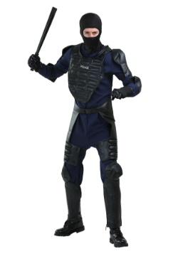 Disfraz de policía antidisturbios para hombre