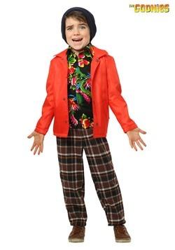 Disfraz de Chunk de Los Goonies para niños pequeños