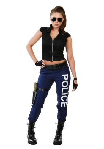 Disfraz para mujer de policía táctica