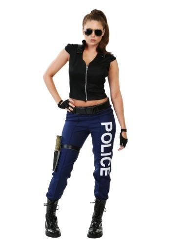 Disfraz para mujer de policía táctica talla extra