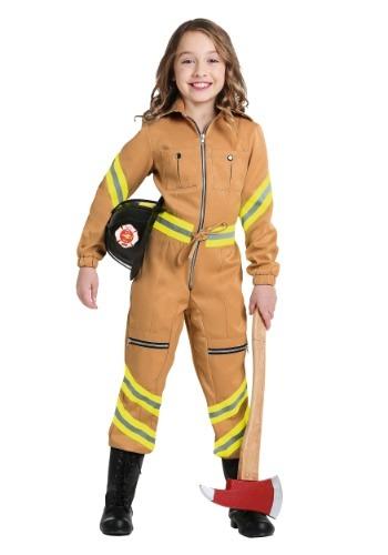 Mono bombero marrón claro