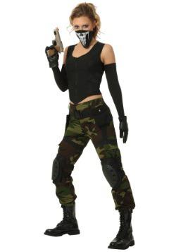 Disfraz de soldado para mujer Soldier Plus Size