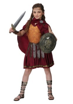 Disfraz de gladiador para niñas