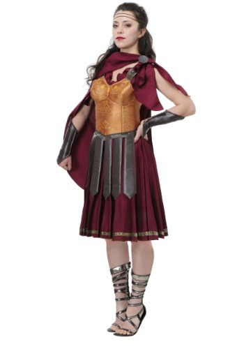 Disfraz de gladiador mujer