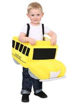 Disfraz de autobús escolar Ride In para niños pequeños