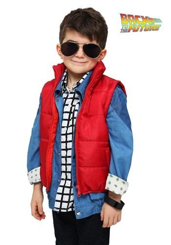 Chaleco de Marty McFly para niños pequeños
