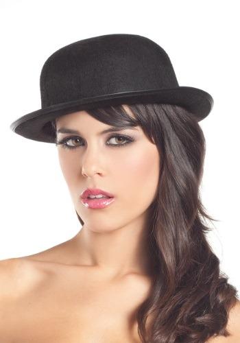 Felt Derby Hat para mujer