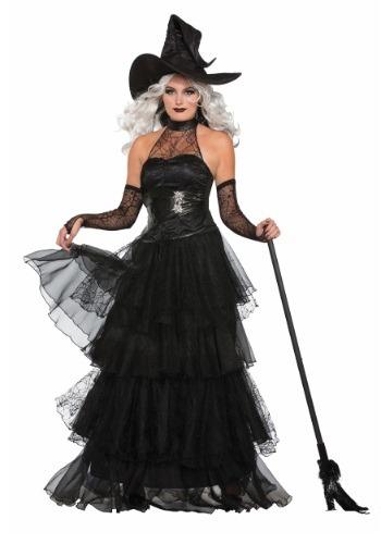 Disfraz de Bruja de brasa para mujer