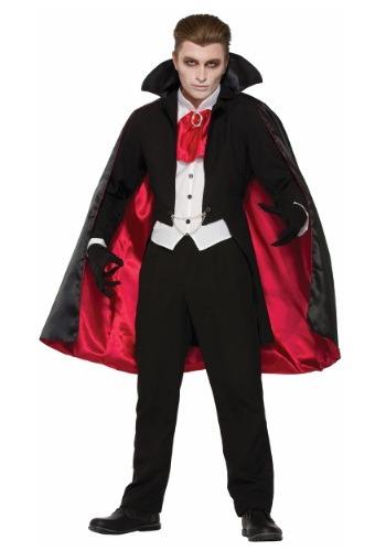 Traje de Vampiro del Conde Clásico