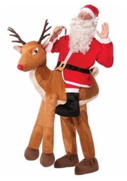Disfraz de montar un reno para adulto