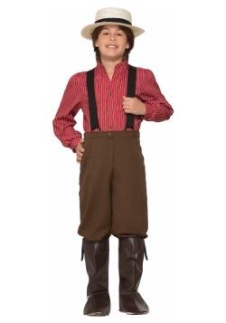 Disfraz de niño pionero