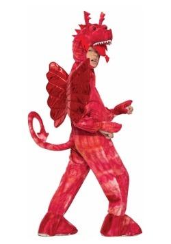 Disfraz infantil de dragón rojo