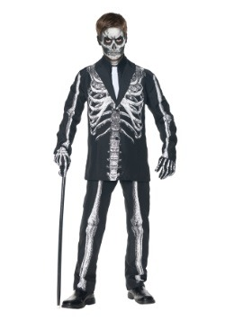 Disfraz de esqueleto de niños