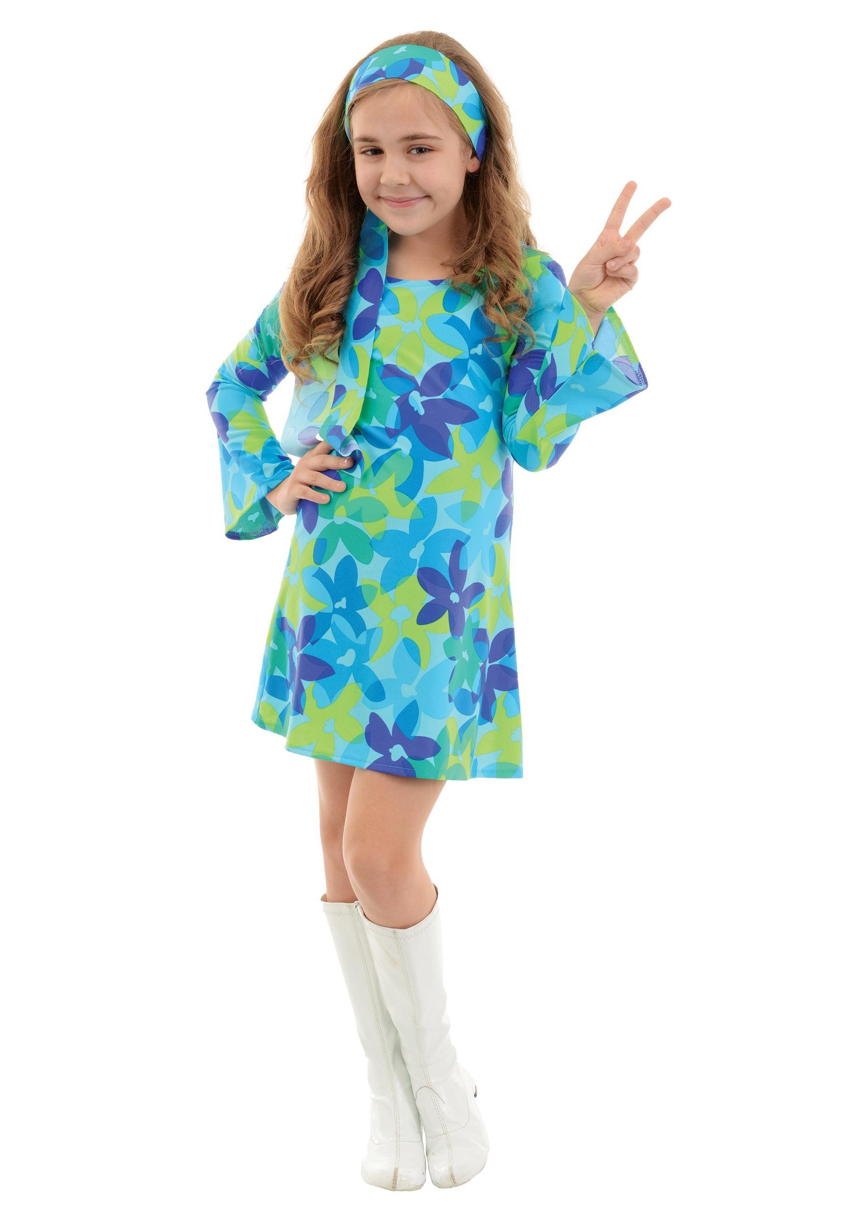 724a3479d Disfraz de armonía hippie para niños