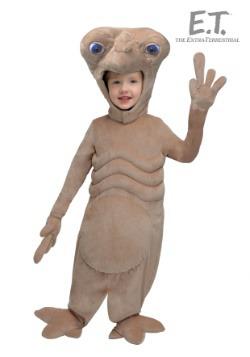 E.T. Disfraz de felpa para niños pequeños