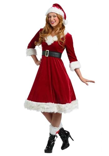 Disfraz de novia Santa Claus para mujer