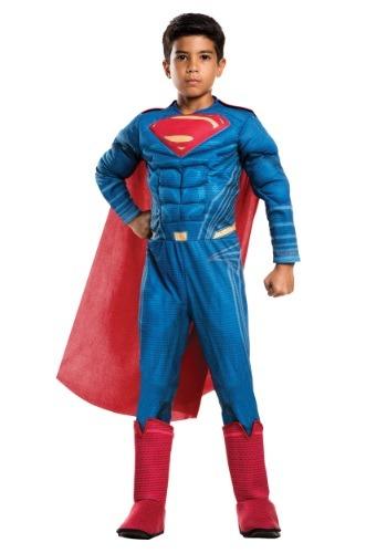 Disfraz de lujo Superman de El origen de la justicia niño