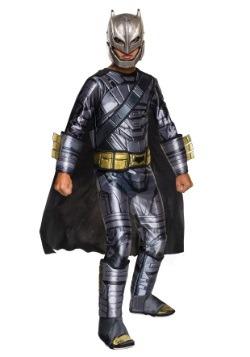Disfraz lujo Batman Blindado El origen de la justicia niño