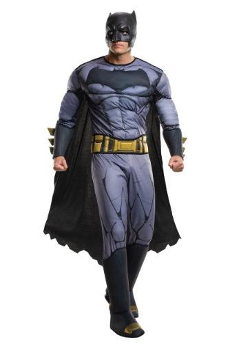 Deluxe Adult Dawn of Justice Disfraz de Batman