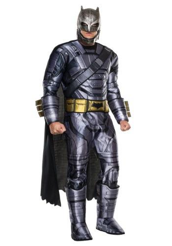Disfraz Deluxe de Batman blindado de Dawn of Justice adulto