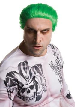 Peluca de Joker para adulto de Suicide Squad