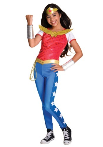 Disfraz de lujo de Mujer maravilla de DC Superhero Girls