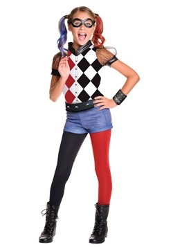 Disfraz DC Superhero Girls de lujo de Harley Quinn