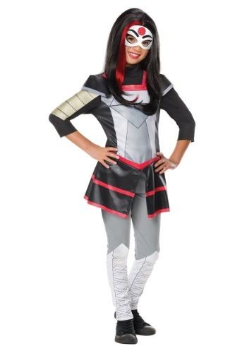 Disfraz de Katana de lujo de DC Superhero Girls