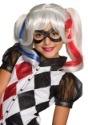 Peluca DC Superhero Girls de Harley Quinn
